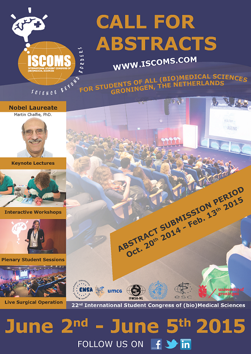 Poster presenting ISCOMS 2015 1