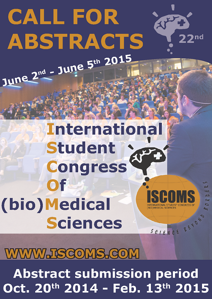 flyer presenting 1 ISCOMS 2015