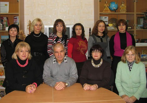 Chair of Russian language of VSMU, photo