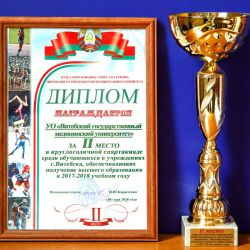 Sports achievements 22